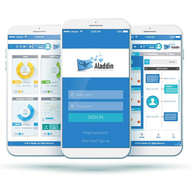 Aladdin – Mobile App Development