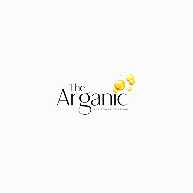 The Arganic logo branding design