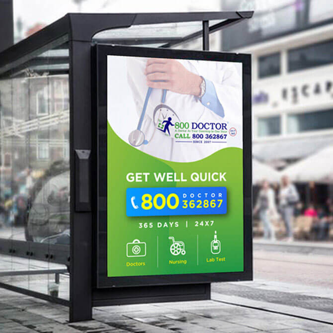 800 Doctor - Graphics Designing Company