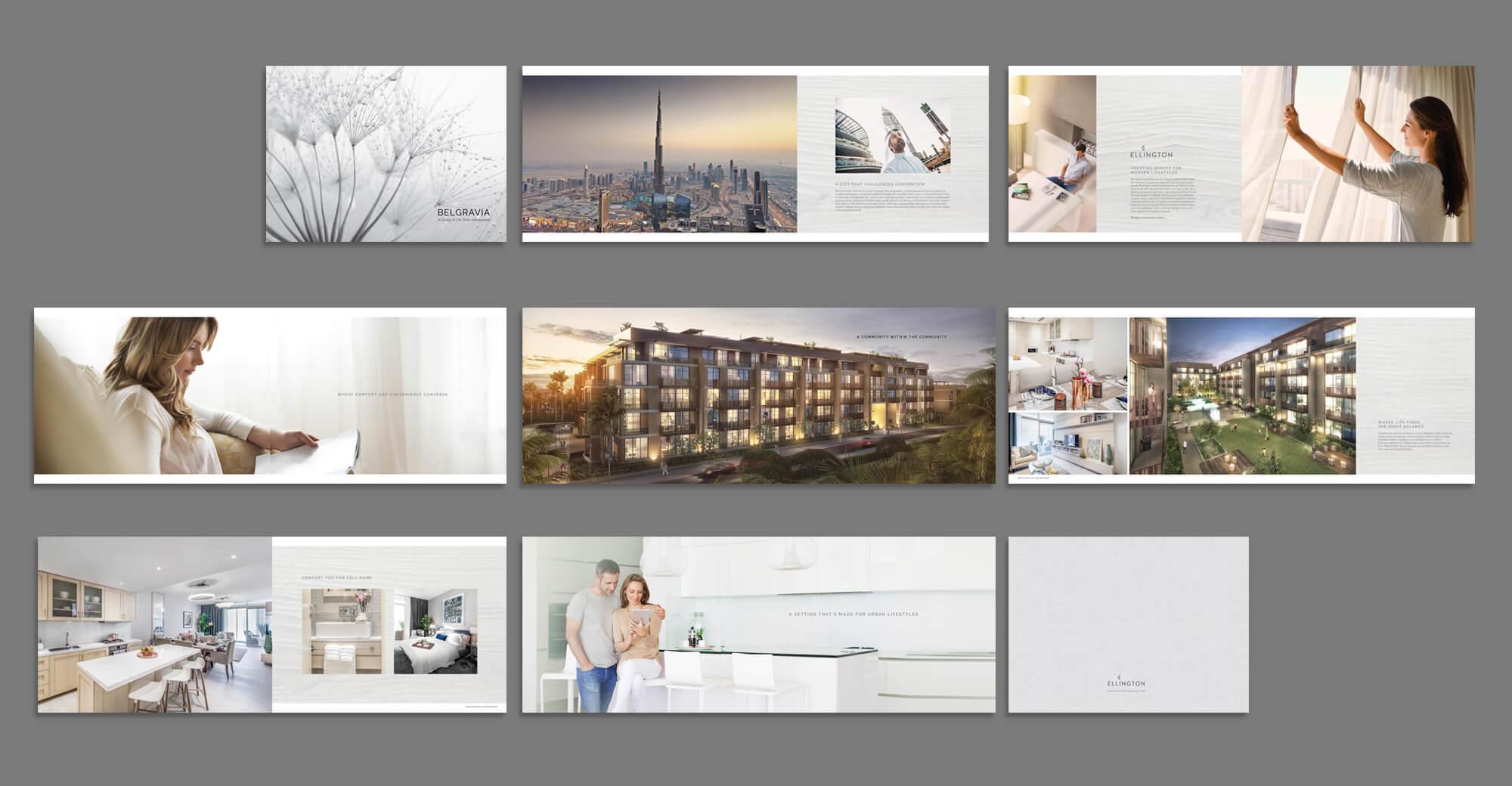 Belgravia – Brochure Design