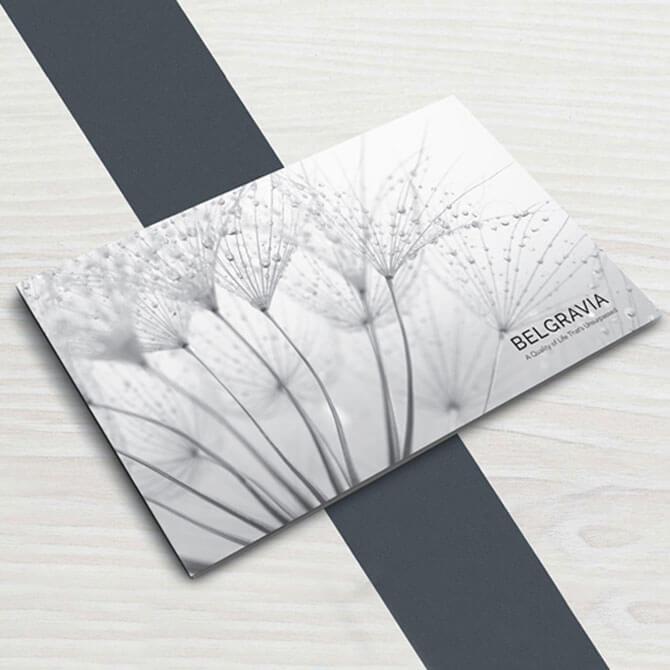 Belgravia Brochure Design