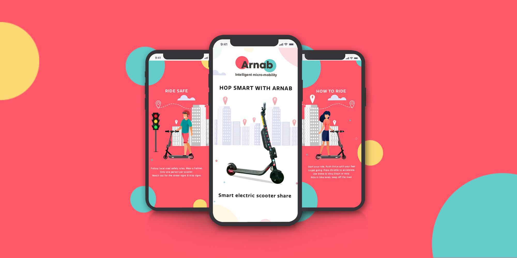 Arnab – Mobile App