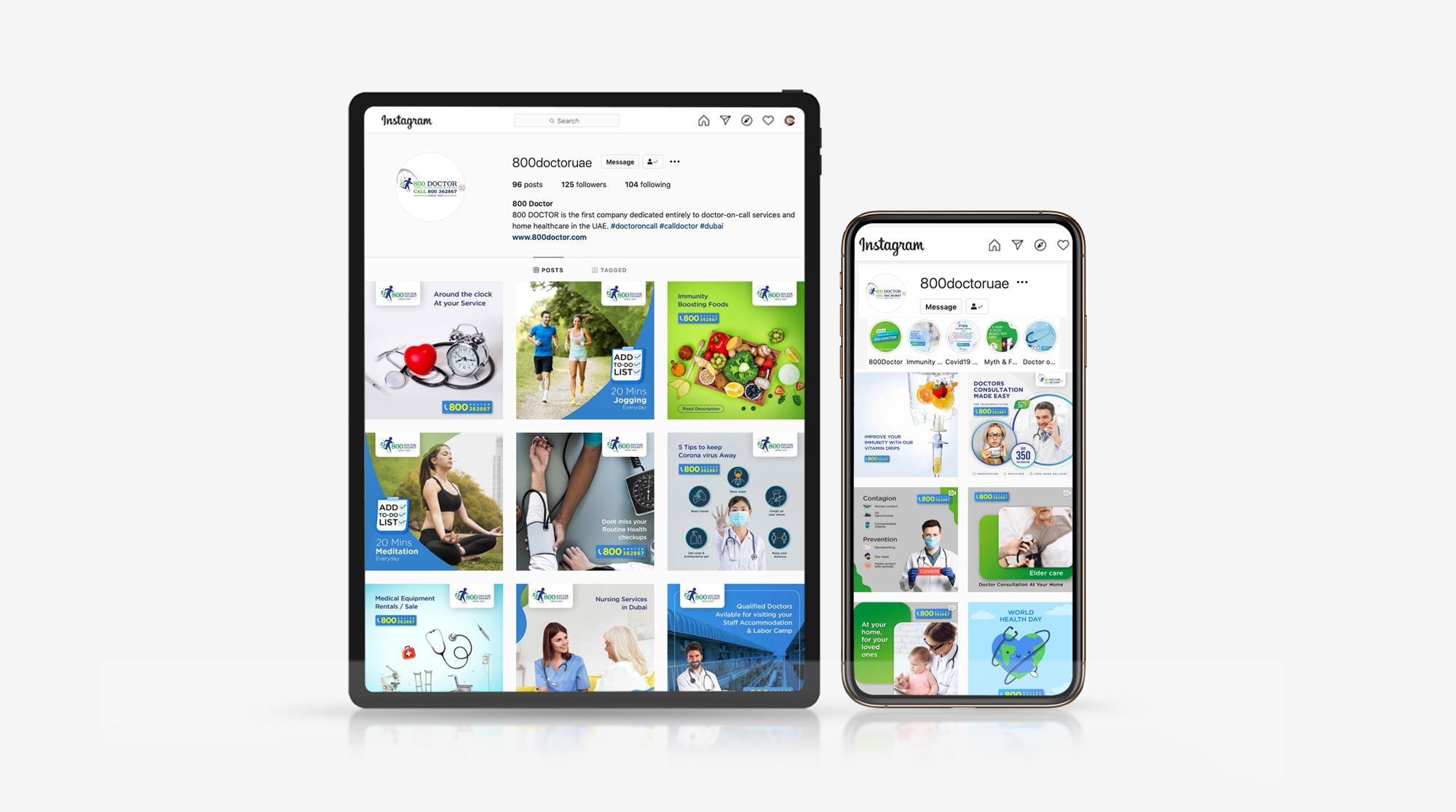 800 Doctor – Online marketing