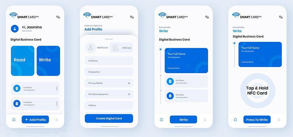 Smart Cart NFC Mobile App Dubai