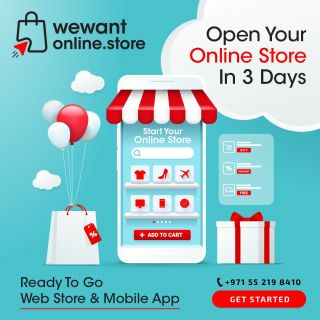 Open your online store in 3 daysGet In TouchCall: +971 4 387 3522 / +971 52 217 4360Visit https://www.wewant360.com #360inc #Dubai #WebsiteDesign #GraphicsDesign #Photography #foodphotography #OnlineMarketing #SEO #SMO #GoogleAds #UAE