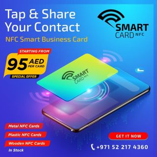 Smart Business Card AED 95 only - Simply Tap & Share your ContactCall: +971 52 217 4360Visit https://www.wewant360.com/smart-card-nfc/ #360inc #Dubai #nfccards #nfcbusinesscards #vcard #digitalbusinesscards #smartbusinesscards #WebsiteDesign #mobileapps #GraphicsDesign  #OnlineMarketing #UAE